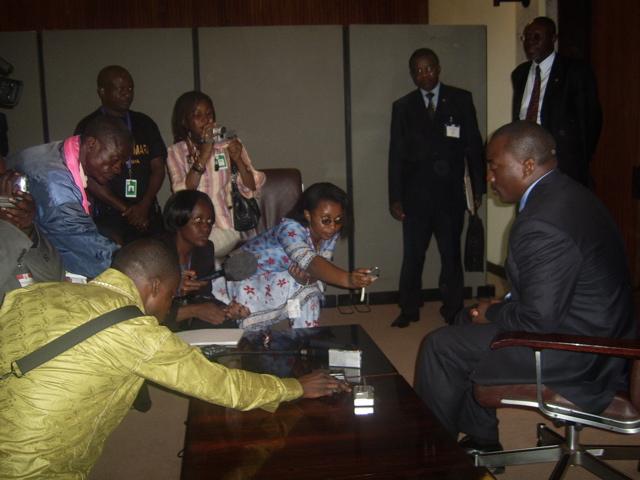 Journalistes congolais