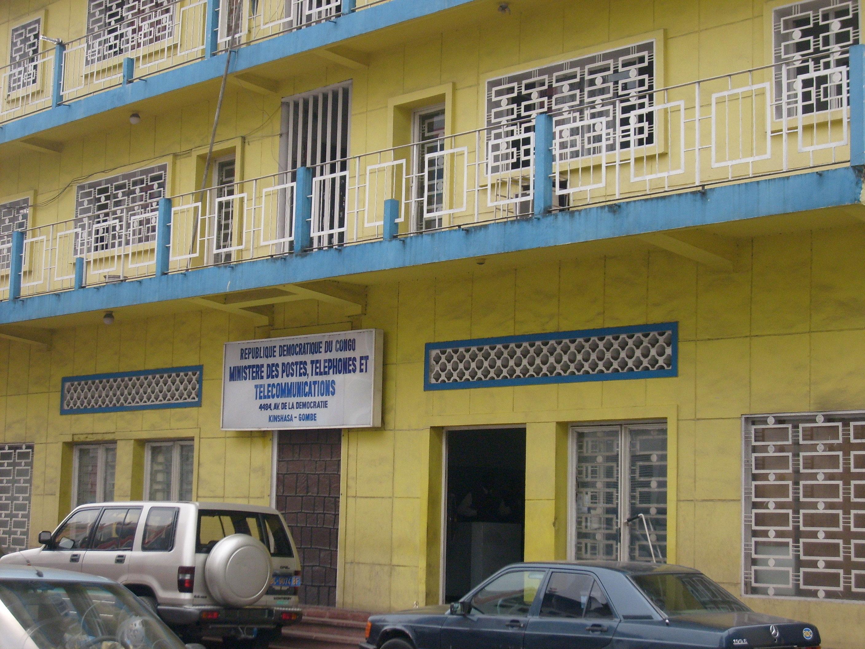 le bâtiment du Ministère des PTT