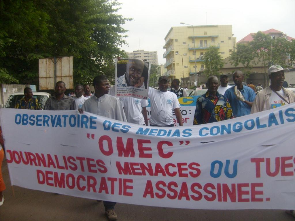 Marche des journalistes