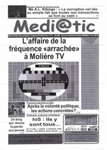 Mediatic, du journal à l'émission tv  dans News Une-Mediatic-215x300